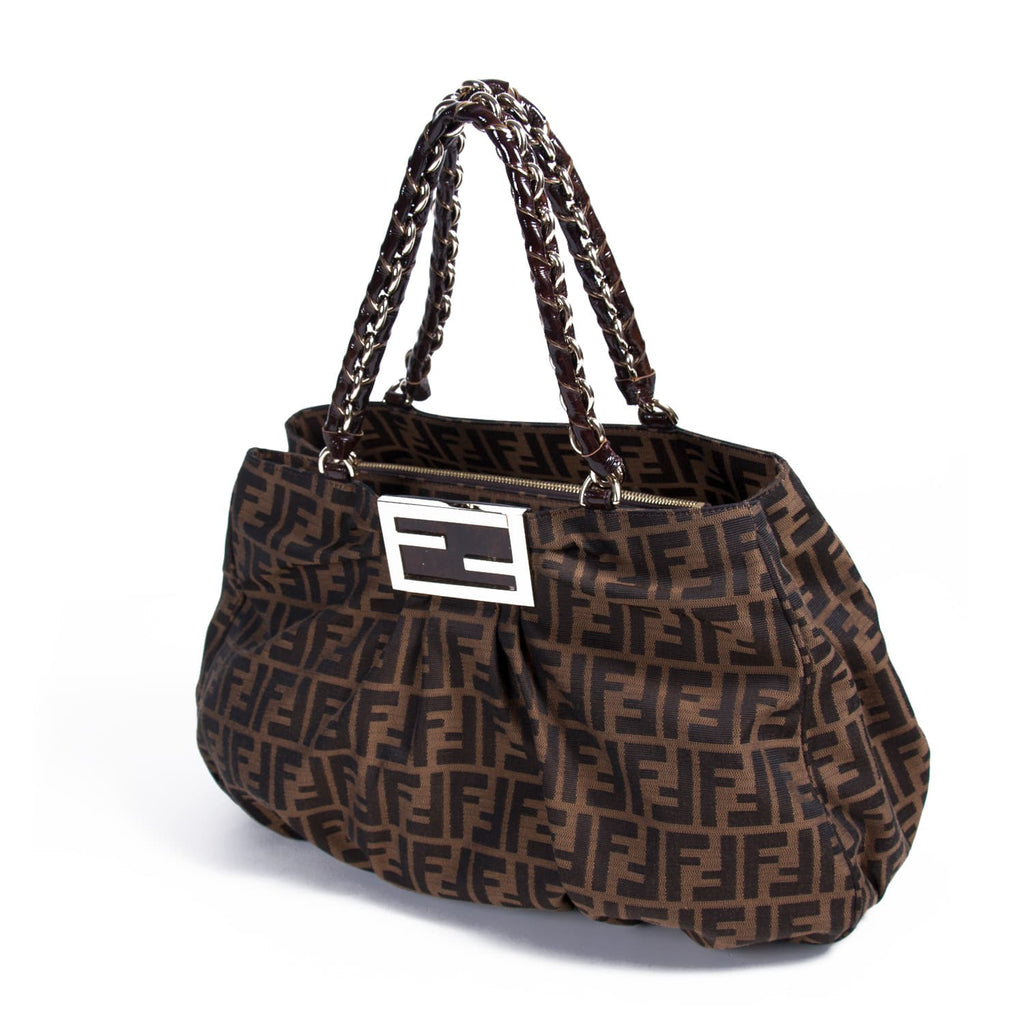ea2743bf01ea ... Fendi Mia Zucca Canvas Bag Bags Fendi - Shop authentic new pre-owned  designer brands ...