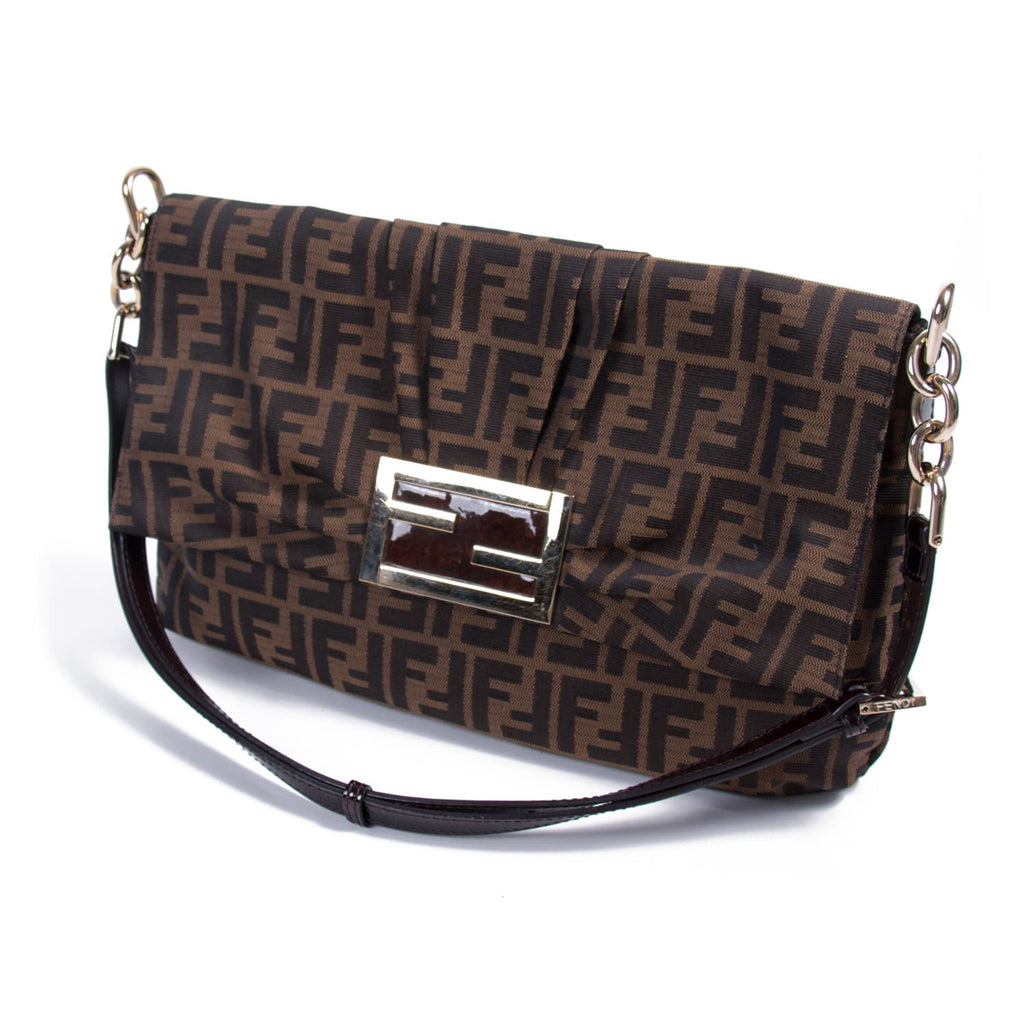 Fendi Zucca Mia Canvas Cross Body Bag Bags Fendi - Shop authentic new pre-owned designer brands online at Re-Vogue