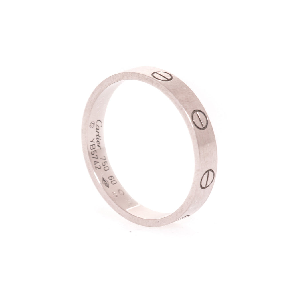 Cartier Love Wedding Band Accessories Cartier - Shop authentic new pre-owned designer brands online at Re-Vogue