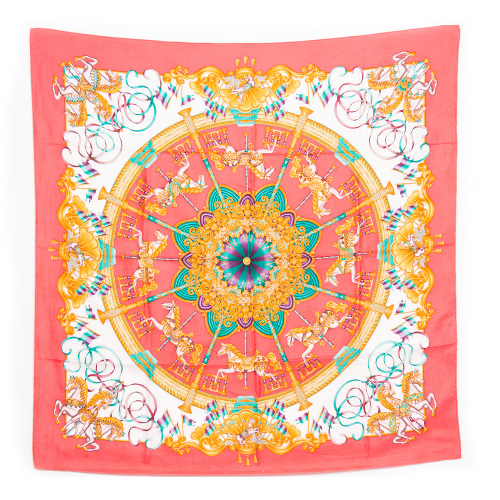 Hermes Silk Scarf Scarves Hermes - Shop authentic new pre-owned designer brands online at Re-Vogue