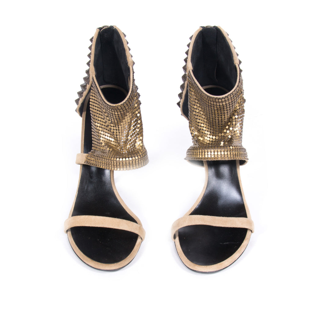 Giuseppe Zanotti For Balmain Sandals Shoes Balmain - Shop authentic new pre-owned designer brands online at Re-Vogue