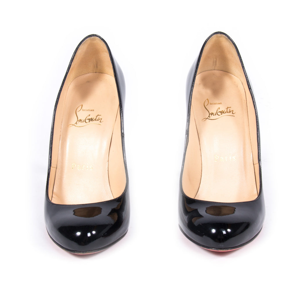 Christian Louboutin Rounded Toe Pumps Shoes Christian Louboutin - Shop authentic new pre-owned designer brands online at Re-Vogue