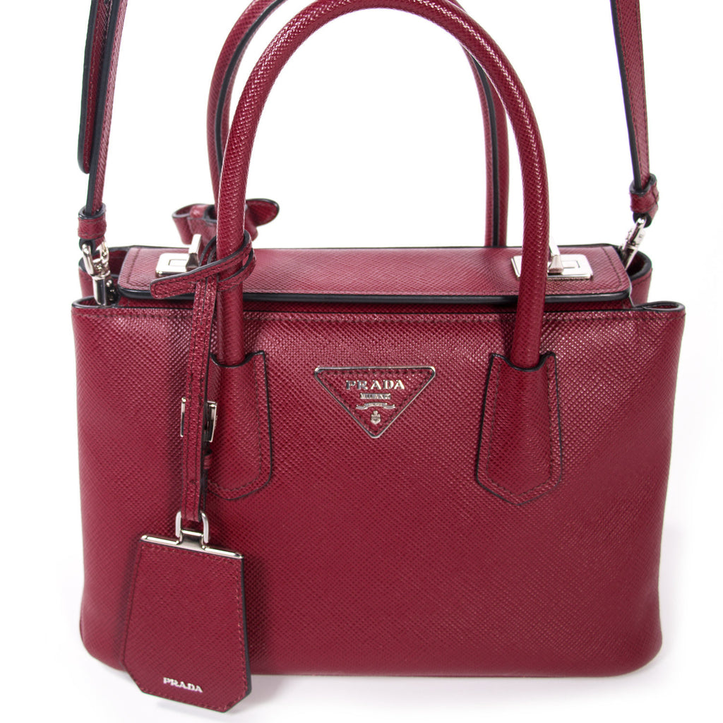 129d180b72a011 ... official store prada twin mini tote bag bags prada shop authentic new  pre owned designer brands