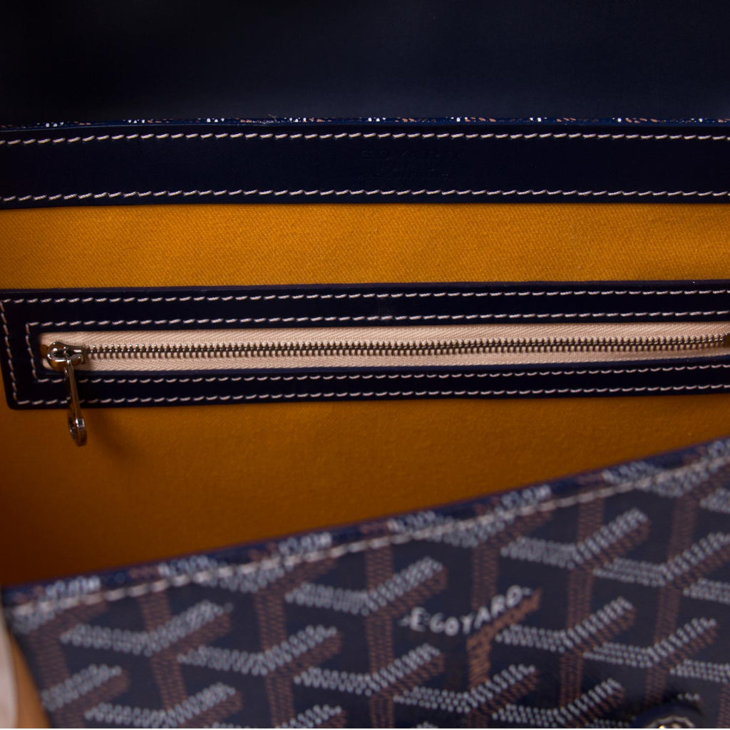 Goyard Navy Blue Saigon MM Bags Goyard - Shop authentic new pre-owned designer brands online at Re-Vogue