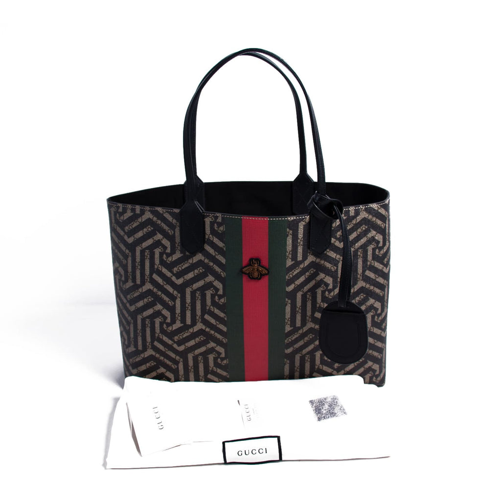 Gucci Caleido Web Bee Tote Bag