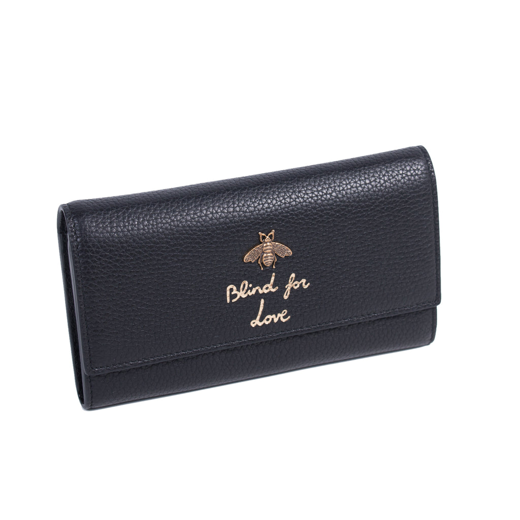 Gucci Animalier Blind For Love Wallet Accessories Gucci - Shop authentic new pre-owned designer brands online at Re-Vogue