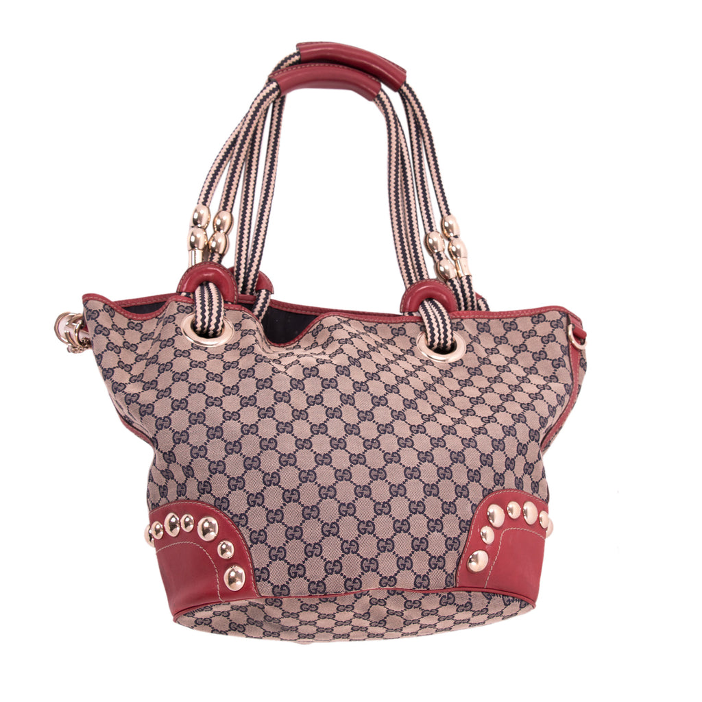 Gucci Oversized Canvas Hobo Bag Bags Gucci - Shop authentic new pre-owned designer brands online at Re-Vogue