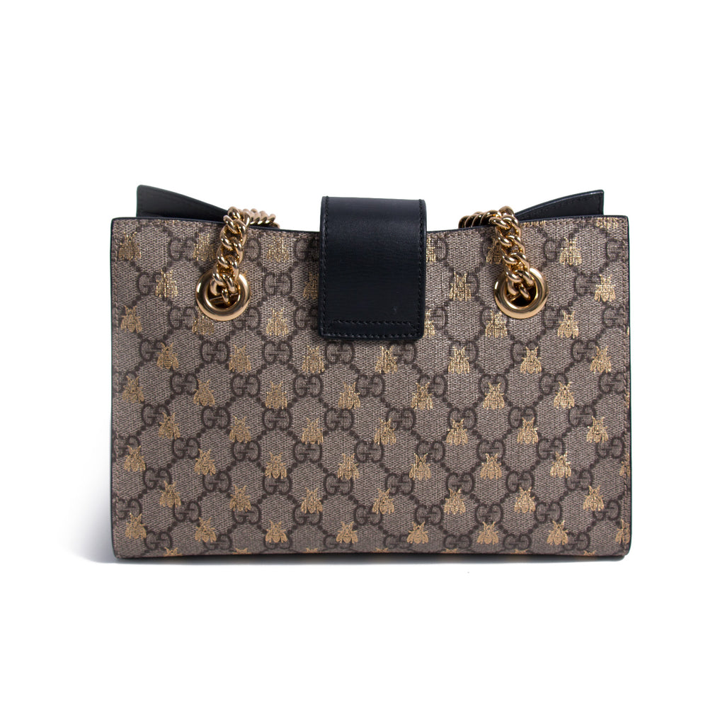 Gucci Bee Padlock Shoulder Bag Bags Gucci - Shop authentic new pre-owned designer brands online at Re-Vogue