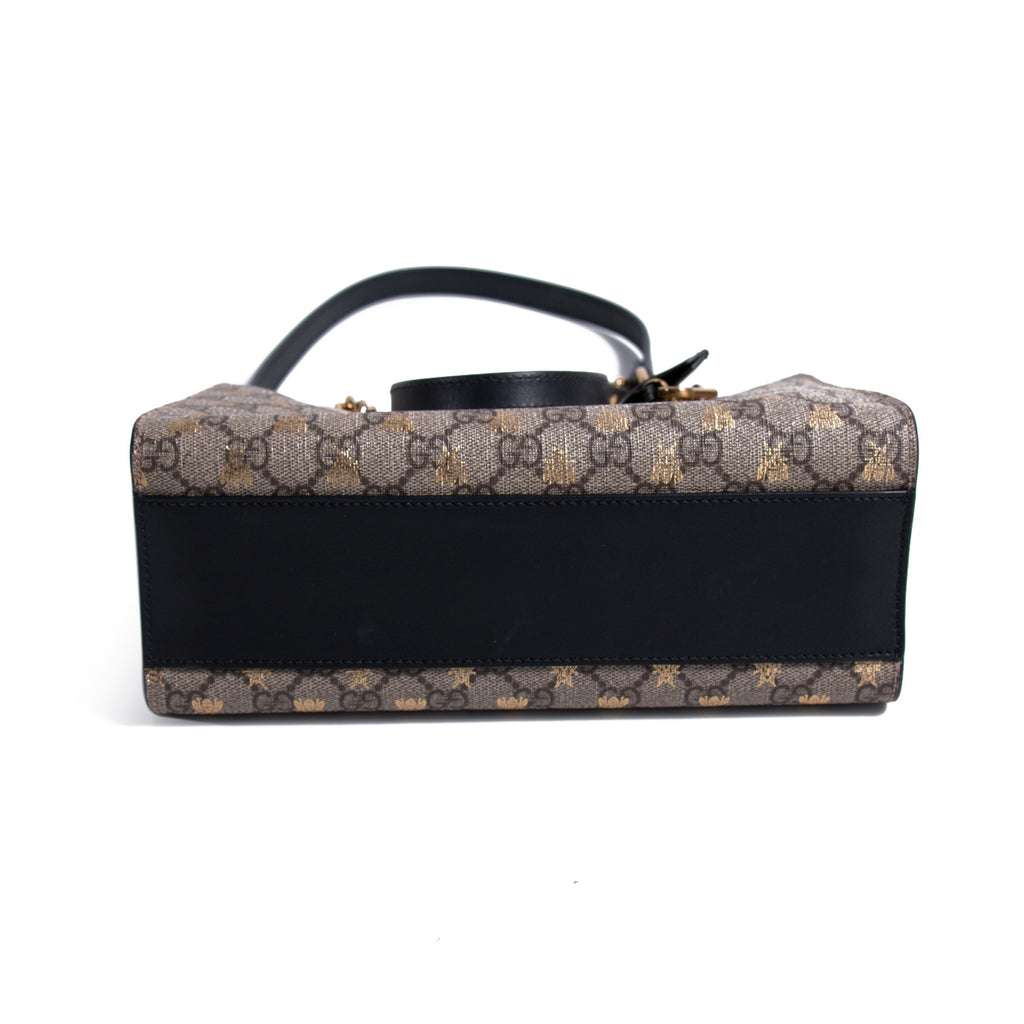 Gucci Bee Padlock Shoulder Bag