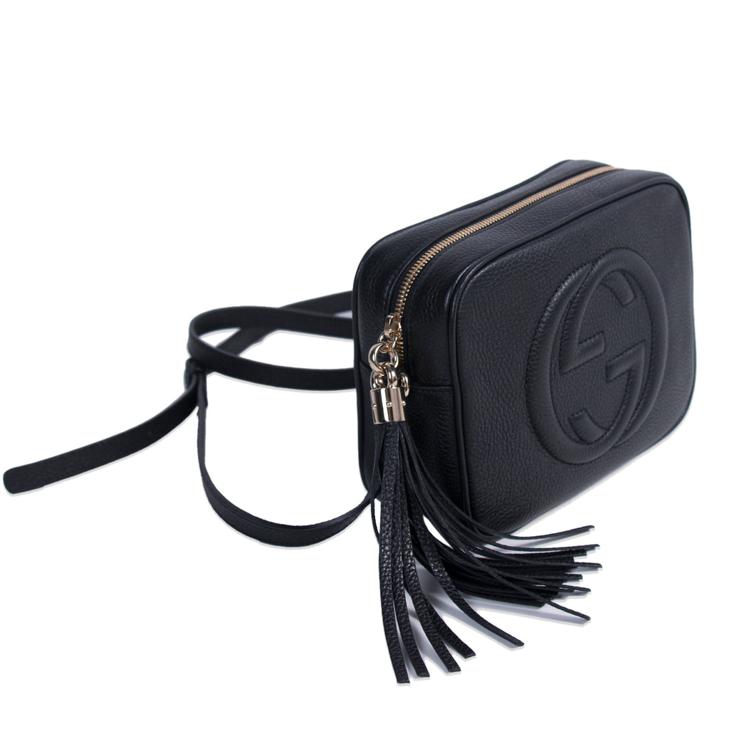 Gucci Soho Small Leather Disco Bag Bags Gucci - Shop authentic new pre-owned designer brands online at Re-Vogue