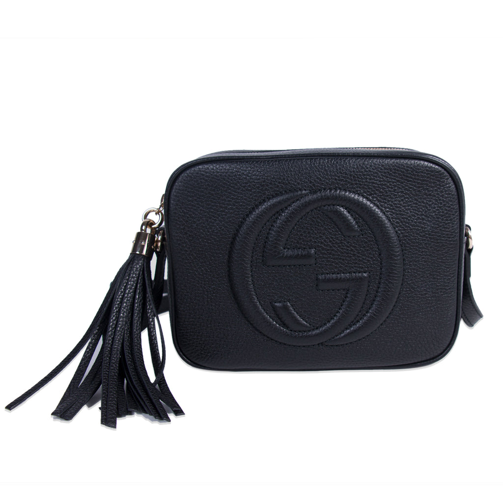 Shop Authentic Gucci Soho Small Leather Disco Bag At Revogue For