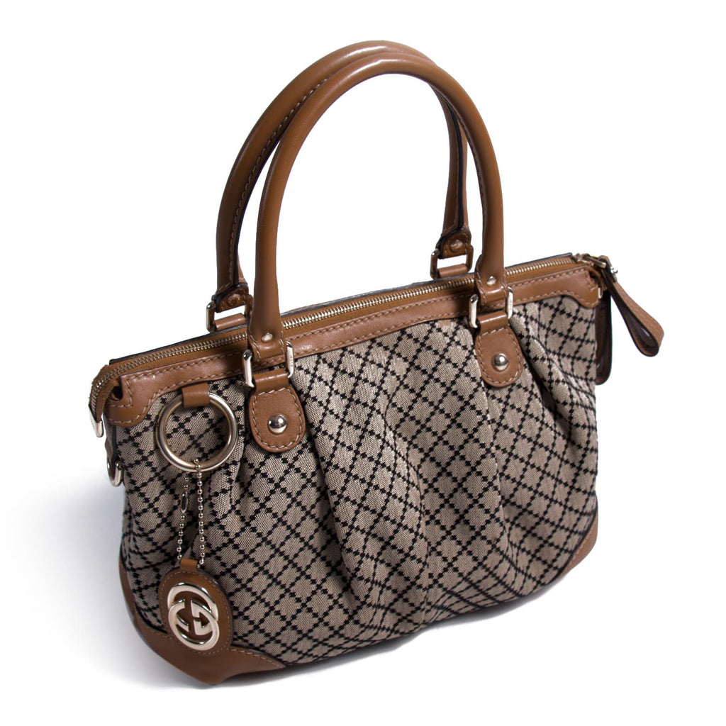 Gucci Diamante Sukey Boston Bag