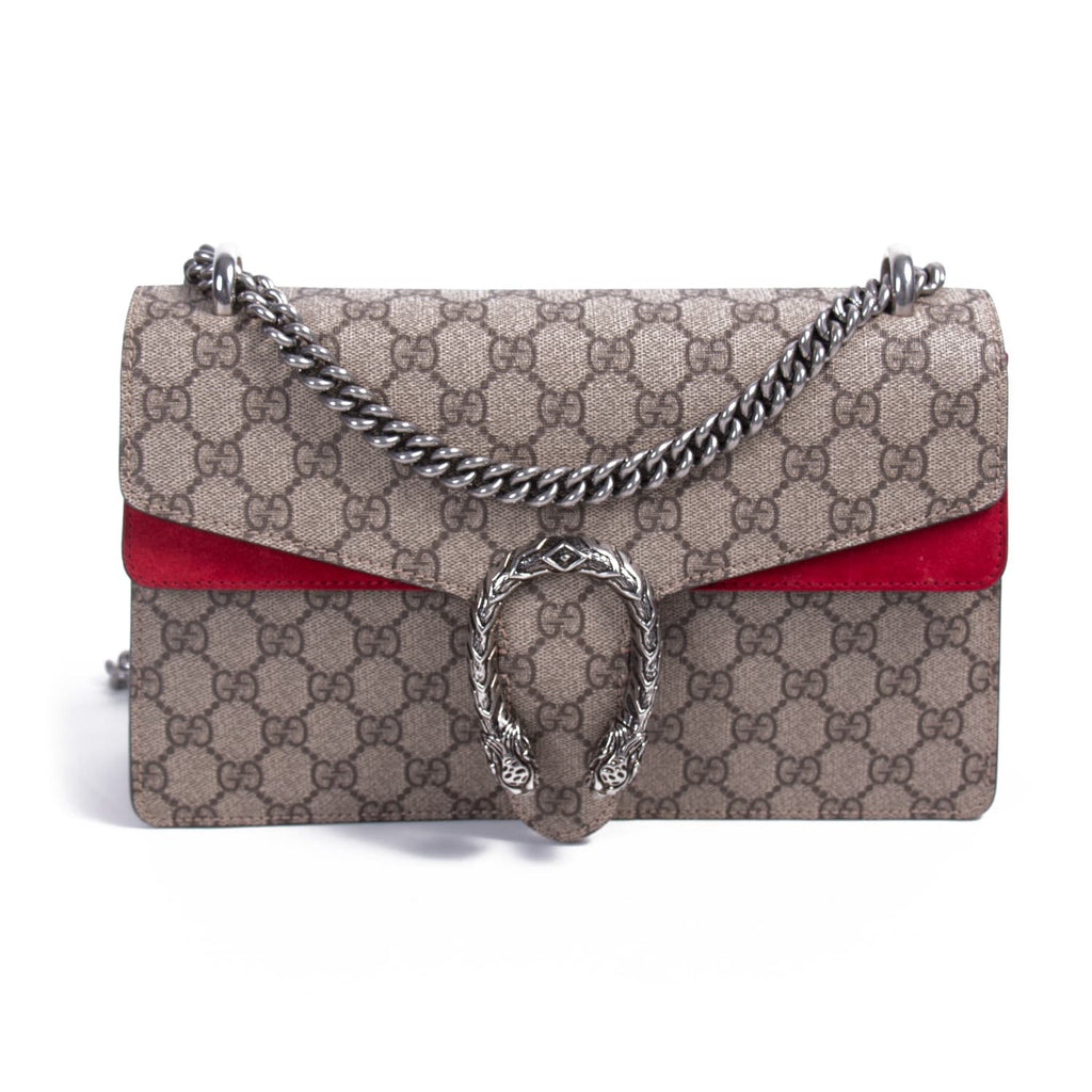 35066d5c4116cb Shop authentic Gucci Small GG Supreme Dionysus Bag at revogue for ...