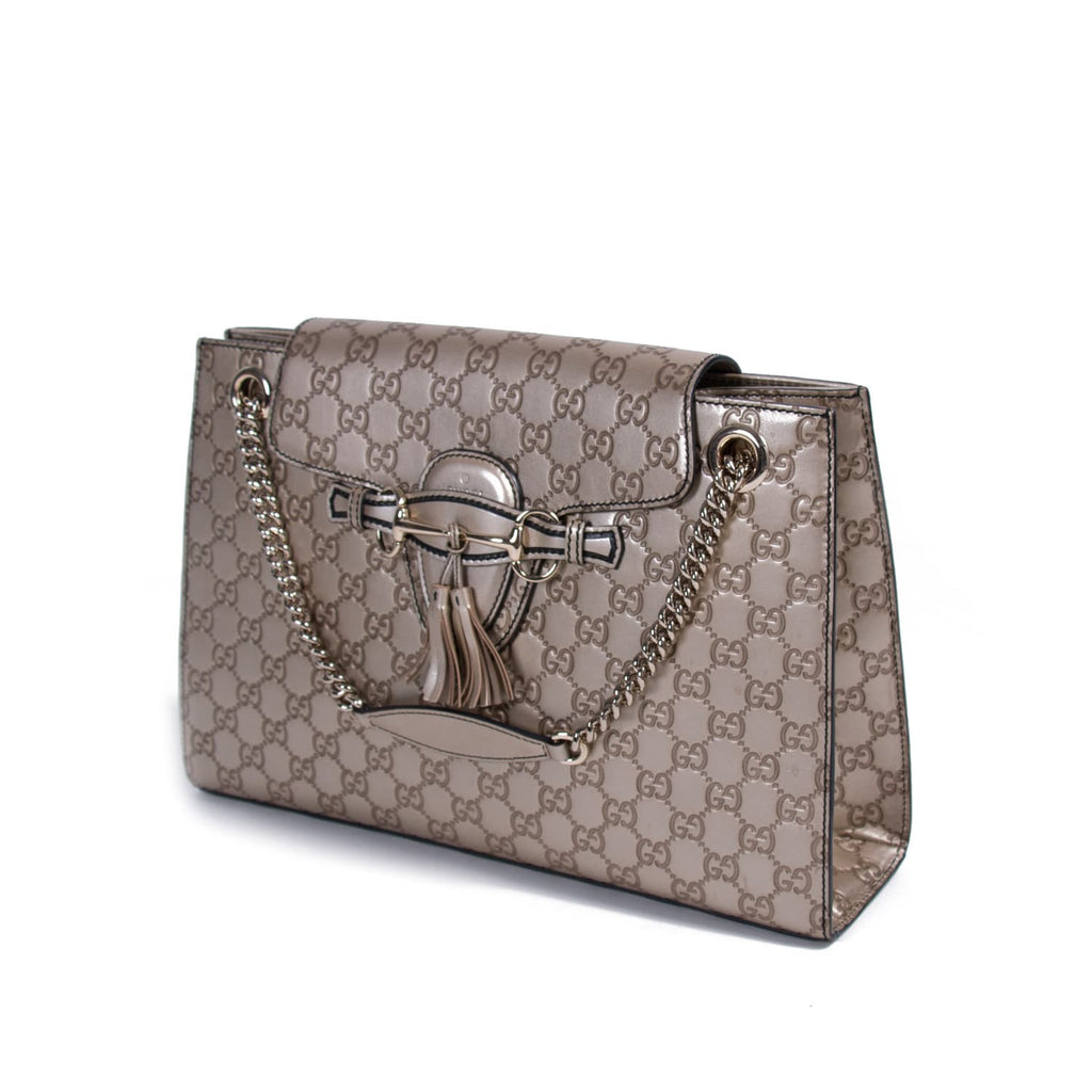 Gucci Emily Large Chain Shoulder Bag