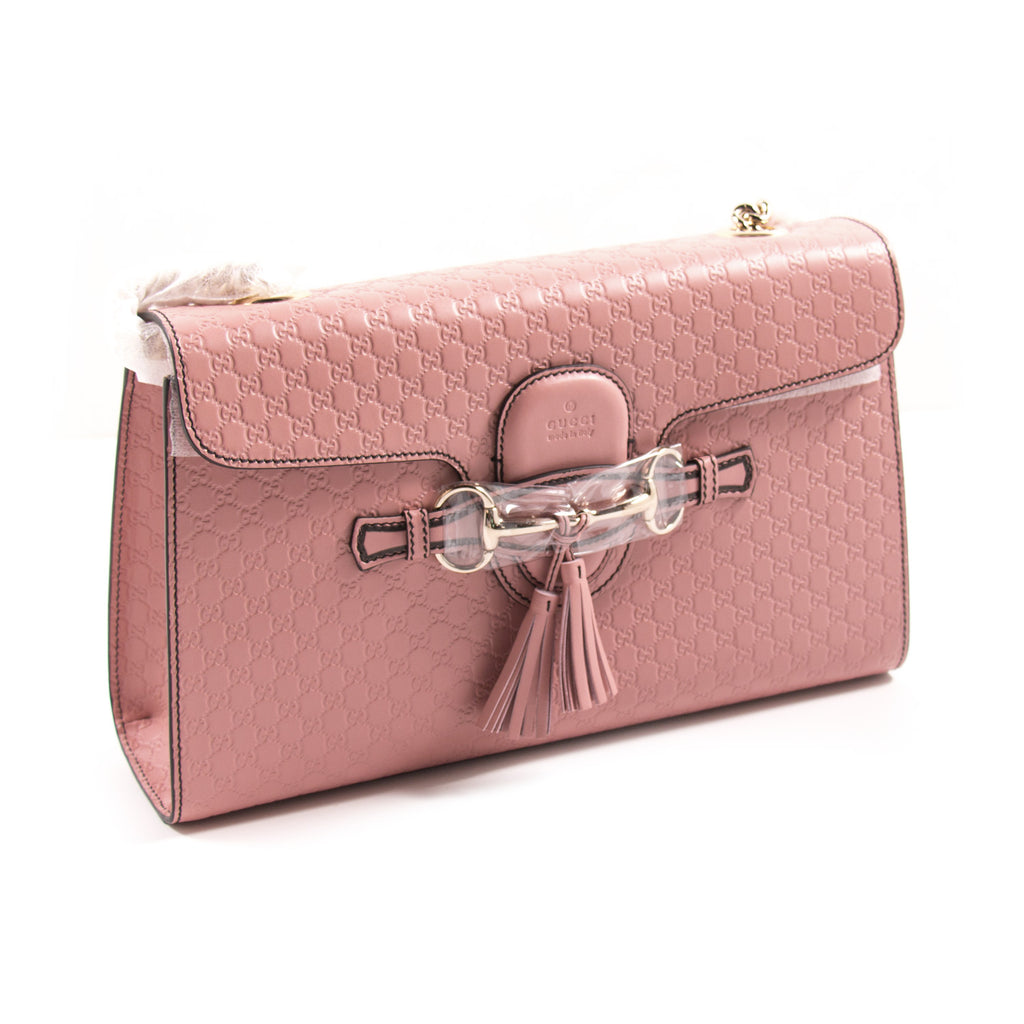 Gucci Emily Guccissima Large Shoulder Bag Bags Gucci - Shop authentic new pre-owned designer brands online at Re-Vogue