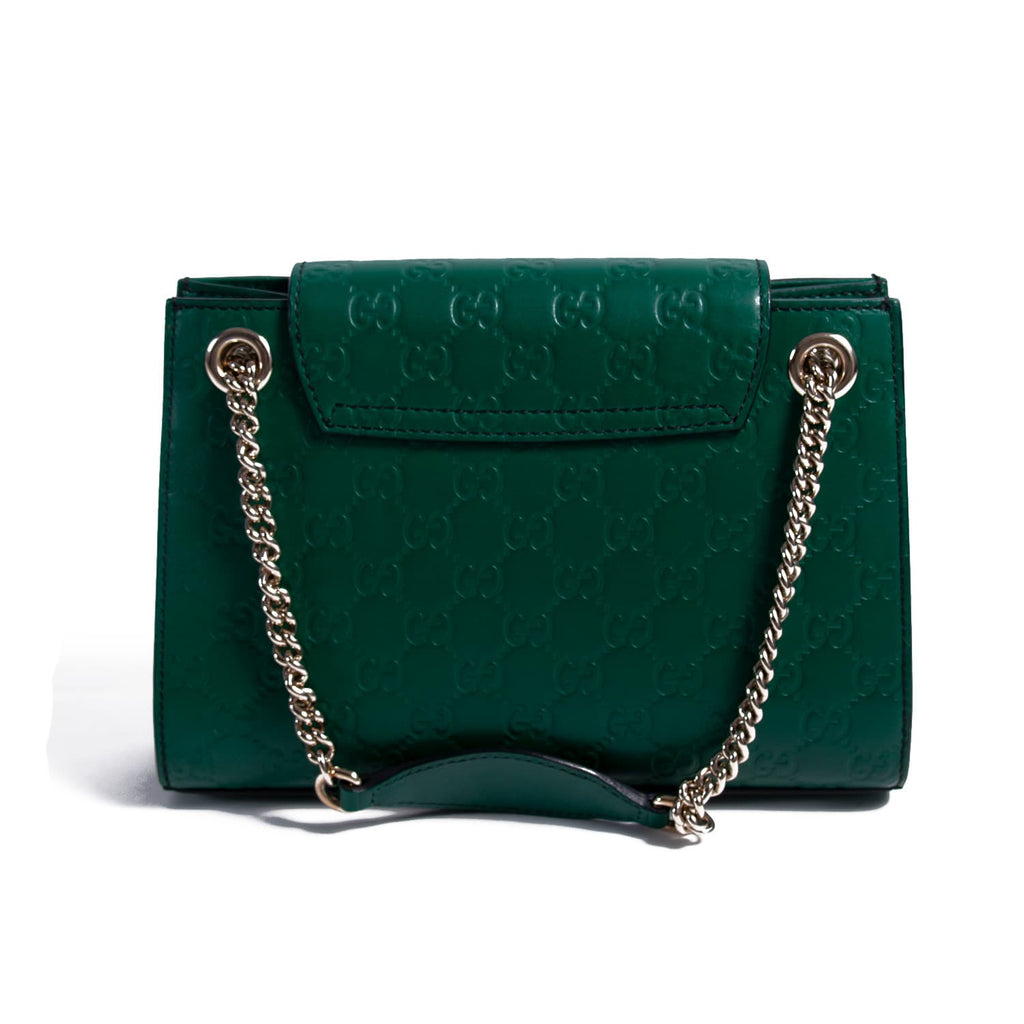392ea68984a0 Shop authentic Gucci Emily Small Chain Shoulder Bag at revogue for ...