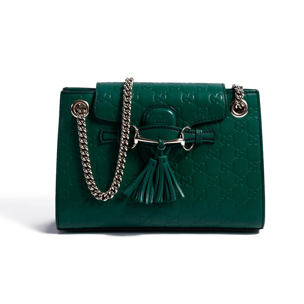 092c62313 Shop authentic Gucci Emily Small Chain Shoulder Bag at revogue for just USD  1,000.00