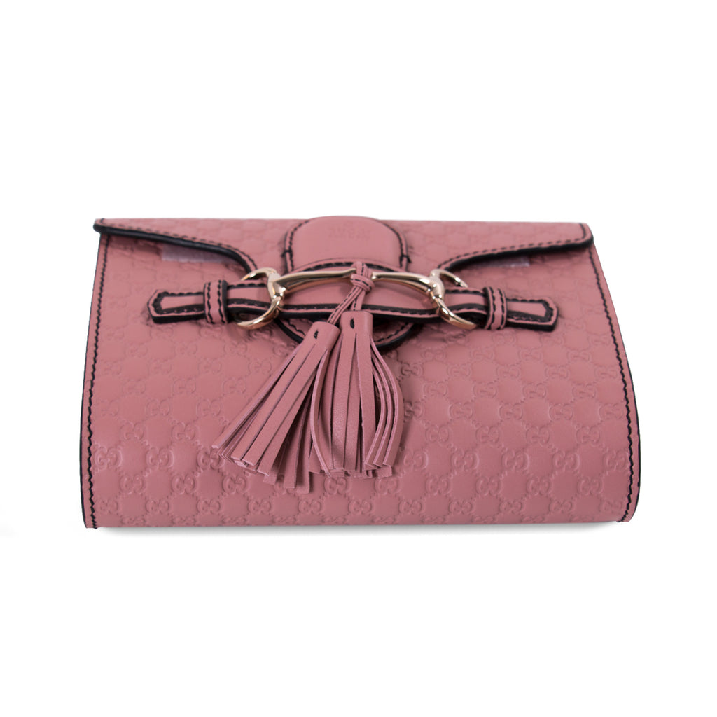Gucci Guccissima Emily Small Chain Shoulder Bag Bags Gucci - Shop authentic new pre-owned designer brands online at Re-Vogue