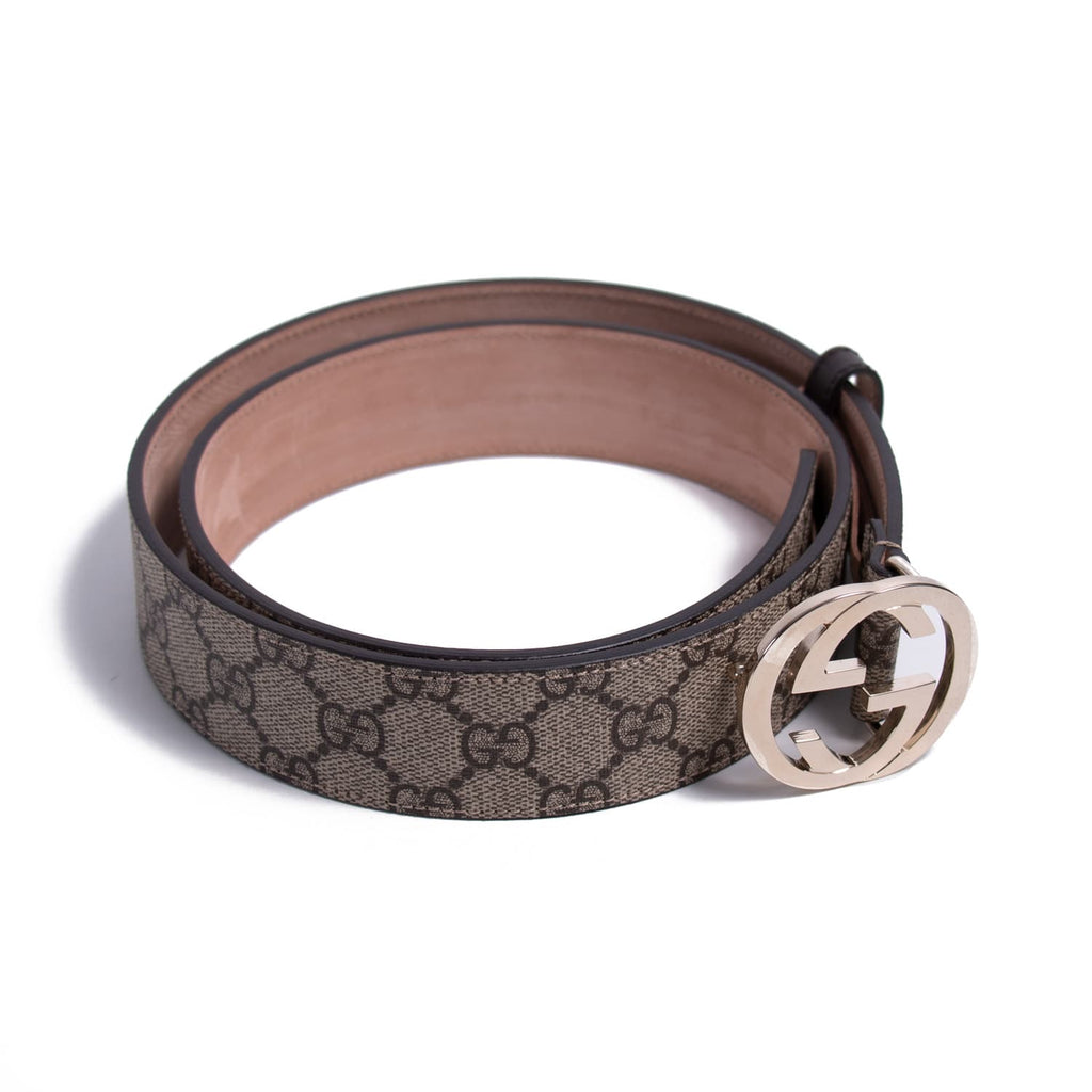 Gucci GG Interlocking Supreme Belt Accessories Gucci - Shop authentic new pre-owned designer brands online at Re-Vogue