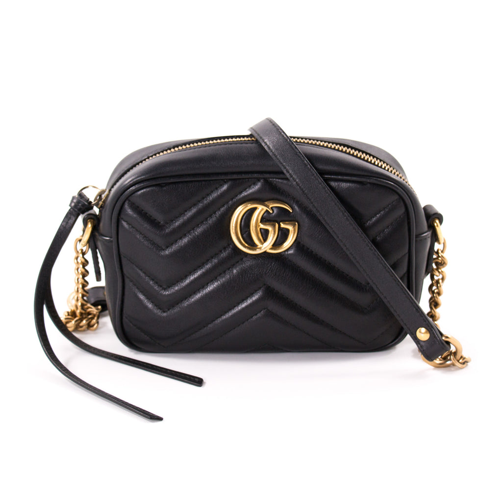 d6dfe00f3b2 Gucci Marmont Matelassé Mini Bag Bags Gucci - Shop authentic new pre-owned  designer brands ...