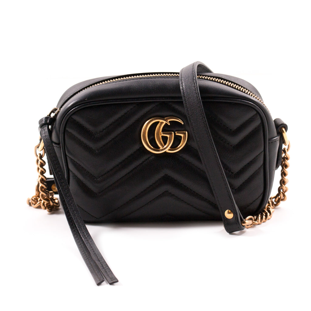 b318f54020c1 Gucci Marmont Matelassé Mini Bag Bags Gucci - Shop authentic new pre-owned  designer brands