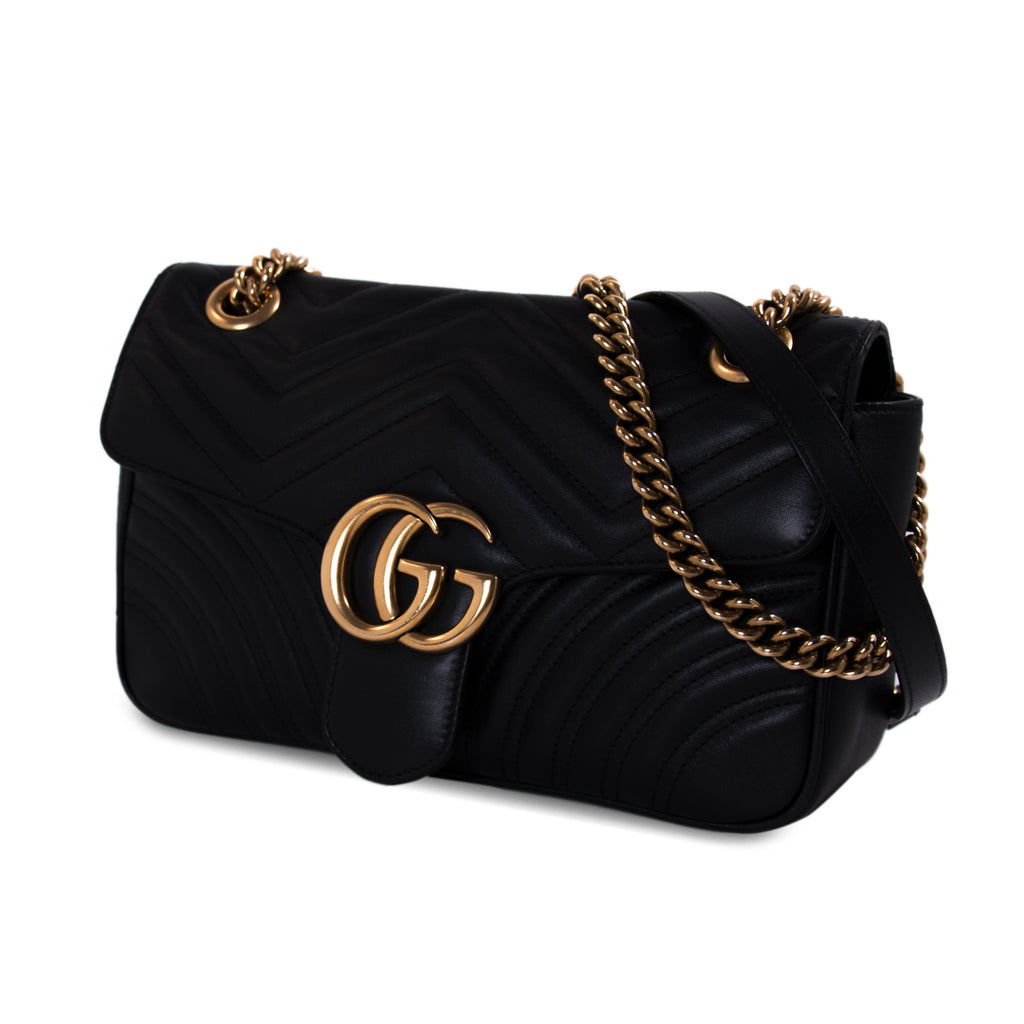 Shop Authentic Gucci Gg Marmont Small Metalass Bag At Revogue For Alma Mini Bags New Pre Owned Designer