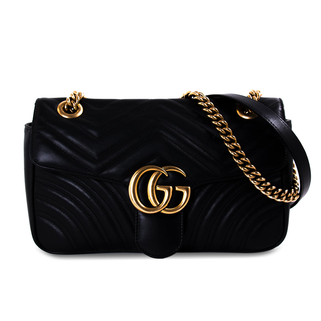5fe9535a66a Shop authentic Gucci GG Marmont Small Metalassé Bag at revogue for ...