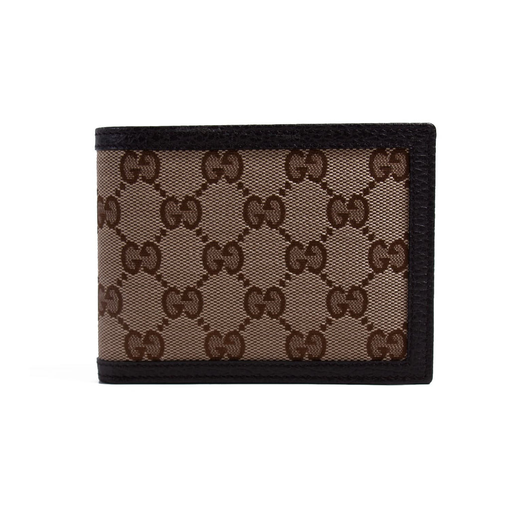 Gucci GG Supreme Bi-Fold Wallet Accessories Gucci - Shop authentic new pre-owned designer brands online at Re-Vogue
