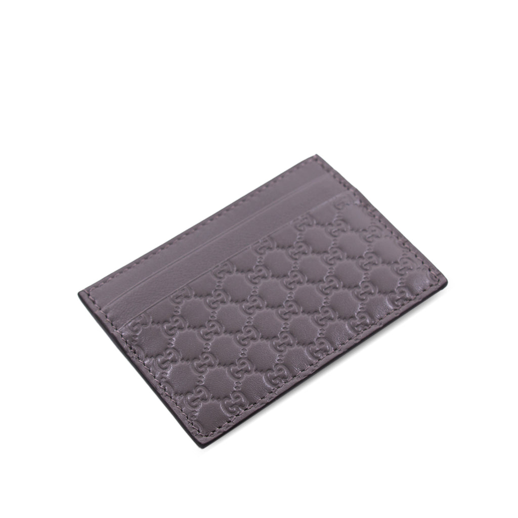 Gucci Guccissima Signature Card Holder Accessories Gucci - Shop authentic new pre-owned designer brands online at Re-Vogue