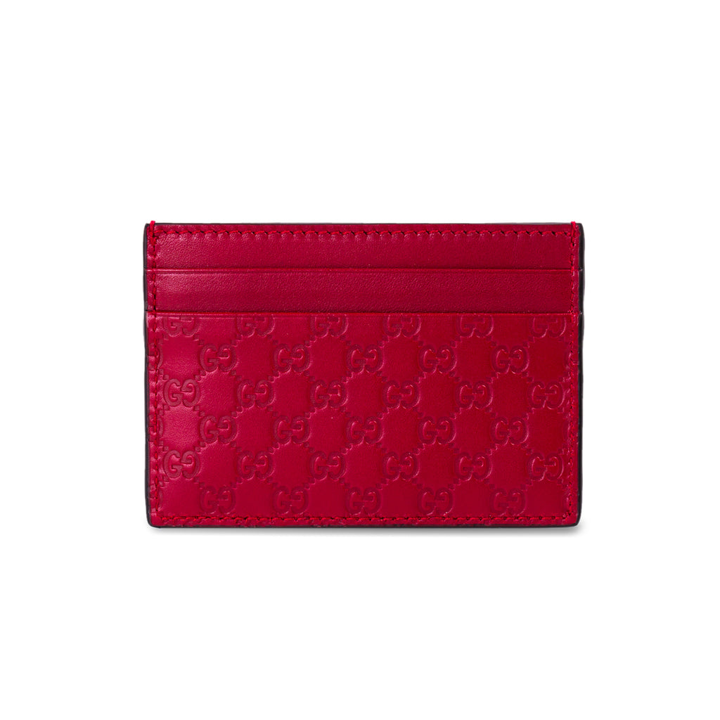 26f0a75ac99a00 Shop authentic Gucci Guccissima Signature Card Holder at revogue for ...