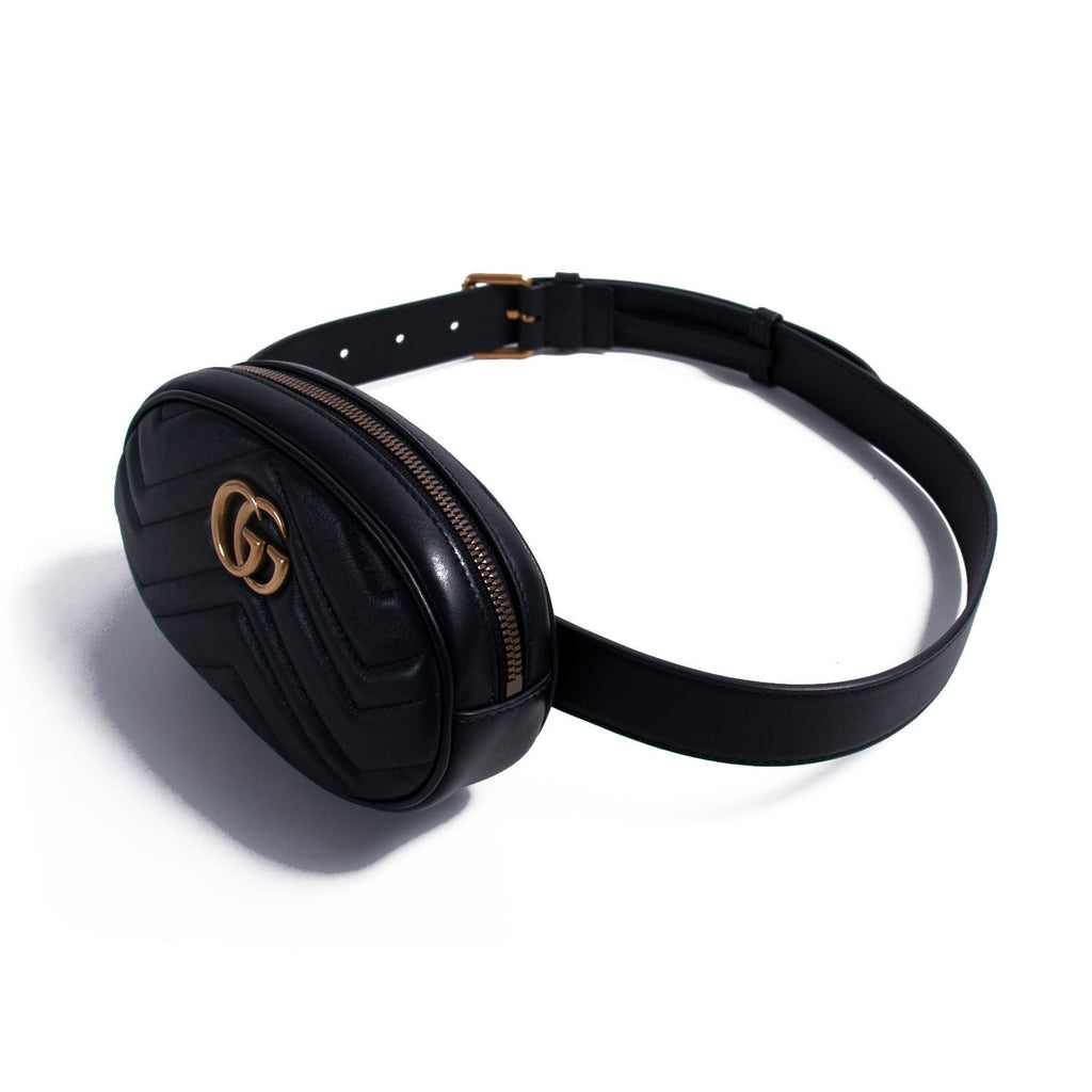 Gucci Marmont Matelassé Leather Belt Bag Bags Gucci - Shop authentic new pre-owned designer brands online at Re-Vogue