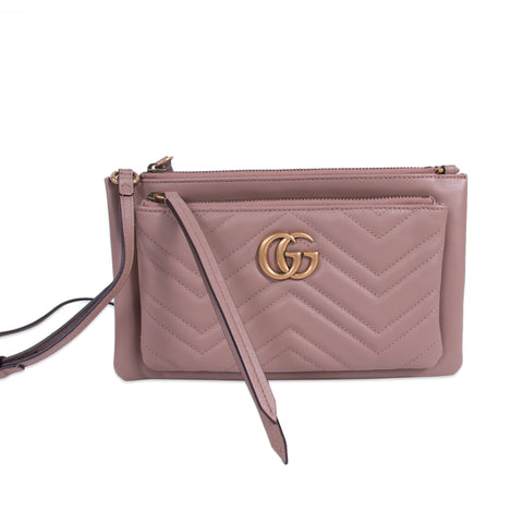 Gucci GG Marmont Small Velvet Metalassé Bag