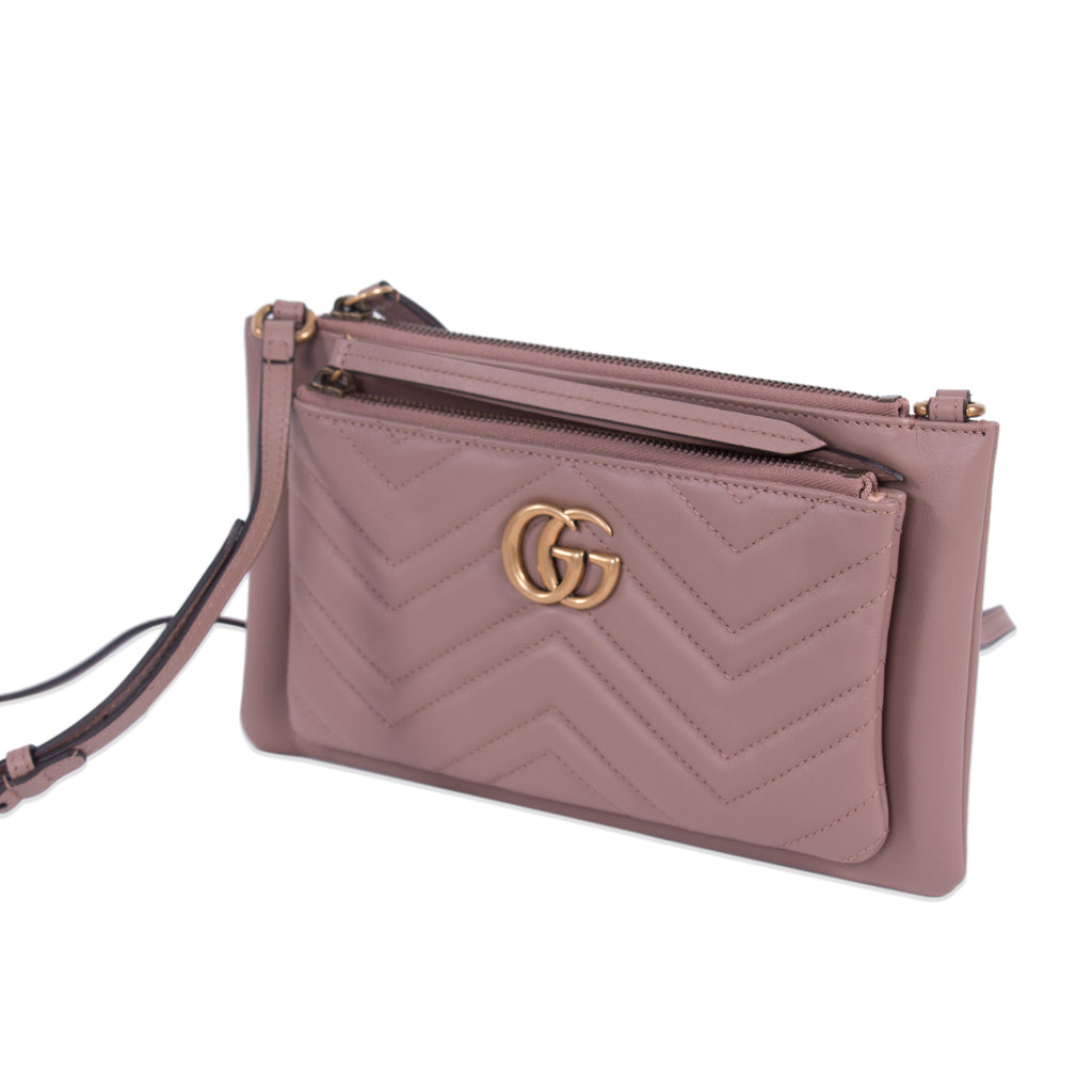140ad78bb Shop authentic Gucci GG Marmont Mini Cross Body Bag at revogue for ...