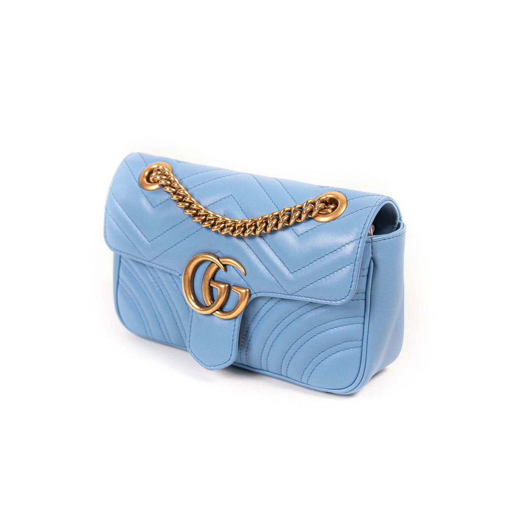Gucci GG Marmont Matelassé Mini Bag Bags Gucci - Shop authentic new pre-owned designer brands online at Re-Vogue