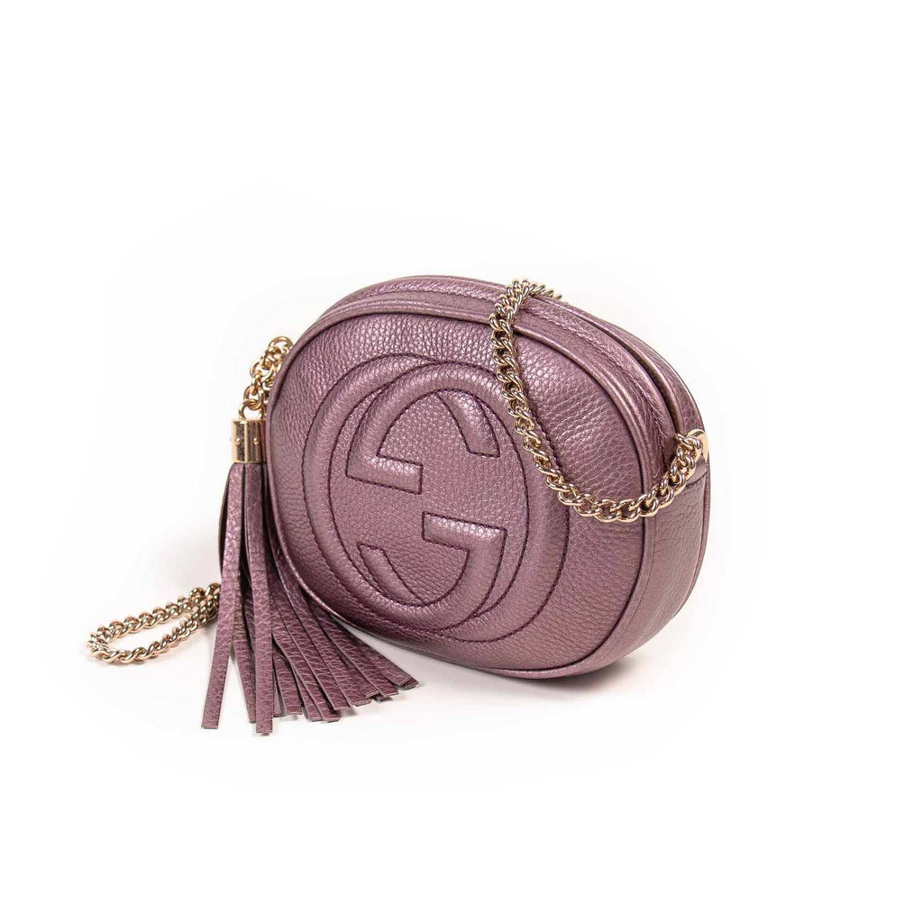 Gucci Soho Mini Leather Disco Bag Bags Gucci - Shop authentic new pre-owned designer brands online at Re-Vogue
