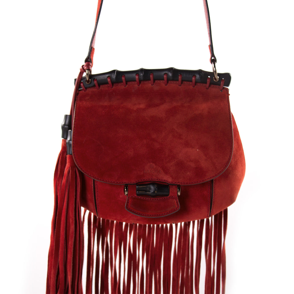 Gucci Nouveau Fringe Shoulder Bag Bags Gucci - Shop authentic new pre-owned designer brands online at Re-Vogue