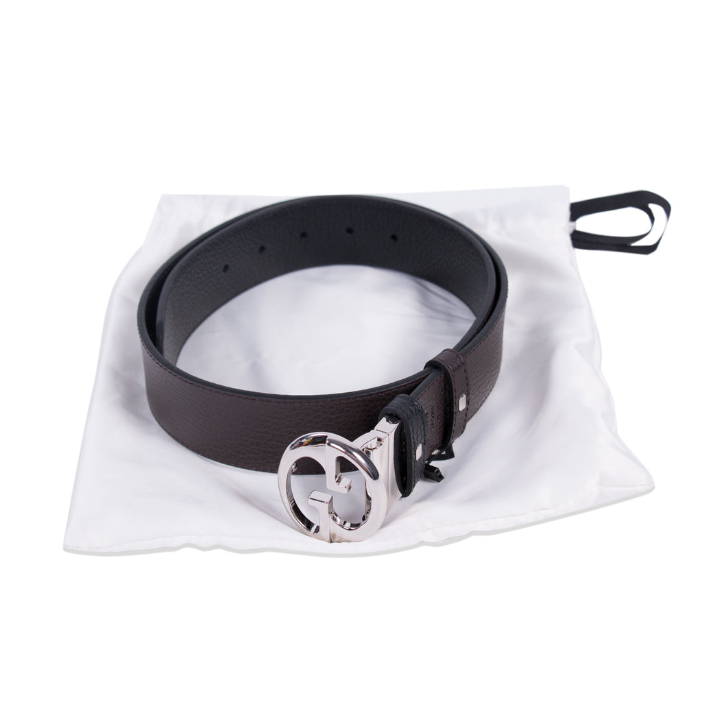 Gucci Interlocking Reversible Logo Belt Accessories Gucci - Shop authentic new pre-owned designer brands online at Re-Vogue
