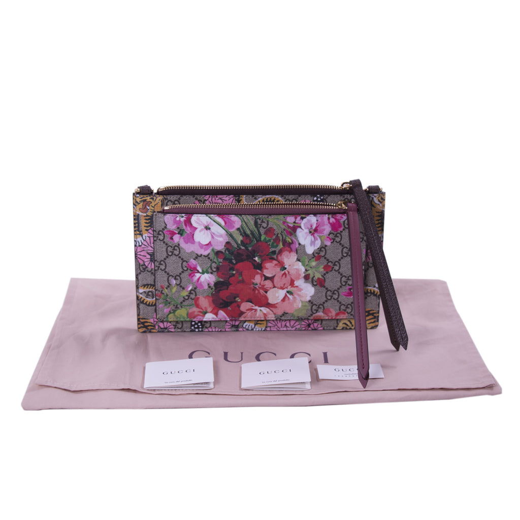 Gucci Bengal Blooms Dual Pouch Crossbody Bags Gucci - Shop authentic new pre-owned designer brands online at Re-Vogue