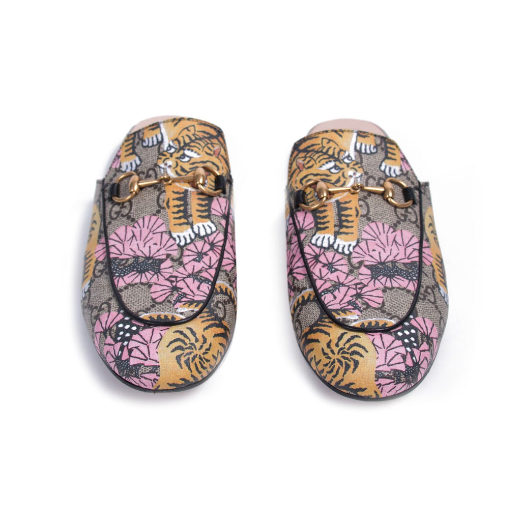 Gucci Princetown Bengal Mules Shoes Gucci - Shop authentic new pre-owned designer brands online at Re-Vogue