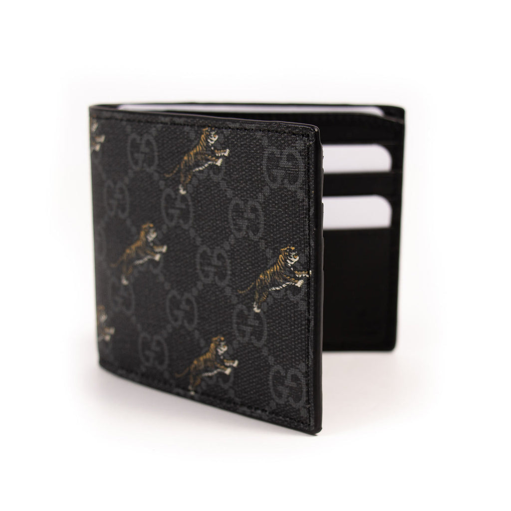 Gucci GG Tiger Print Wallet Accessories Gucci - Shop authentic new pre-owned designer brands online at Re-Vogue