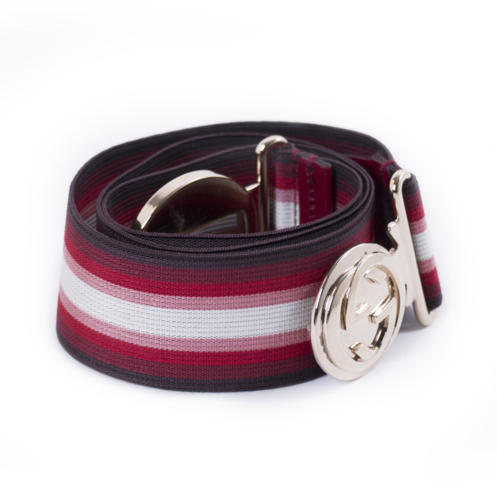 Gucci GG Web Elastic Waist Belt Accessories Gucci - Shop authentic new pre-owned designer brands online at Re-Vogue