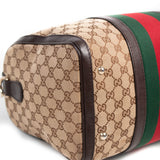Gucci Vintage Web Boston Bag Bags Gucci - Shop authentic new pre-owned designer brands online at Re-Vogue