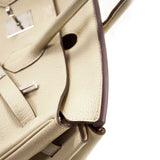 Hermès Birkin 35 Parchemin Clemence Leather Bags Hermès - Shop authentic new pre-owned designer brands online at Re-Vogue