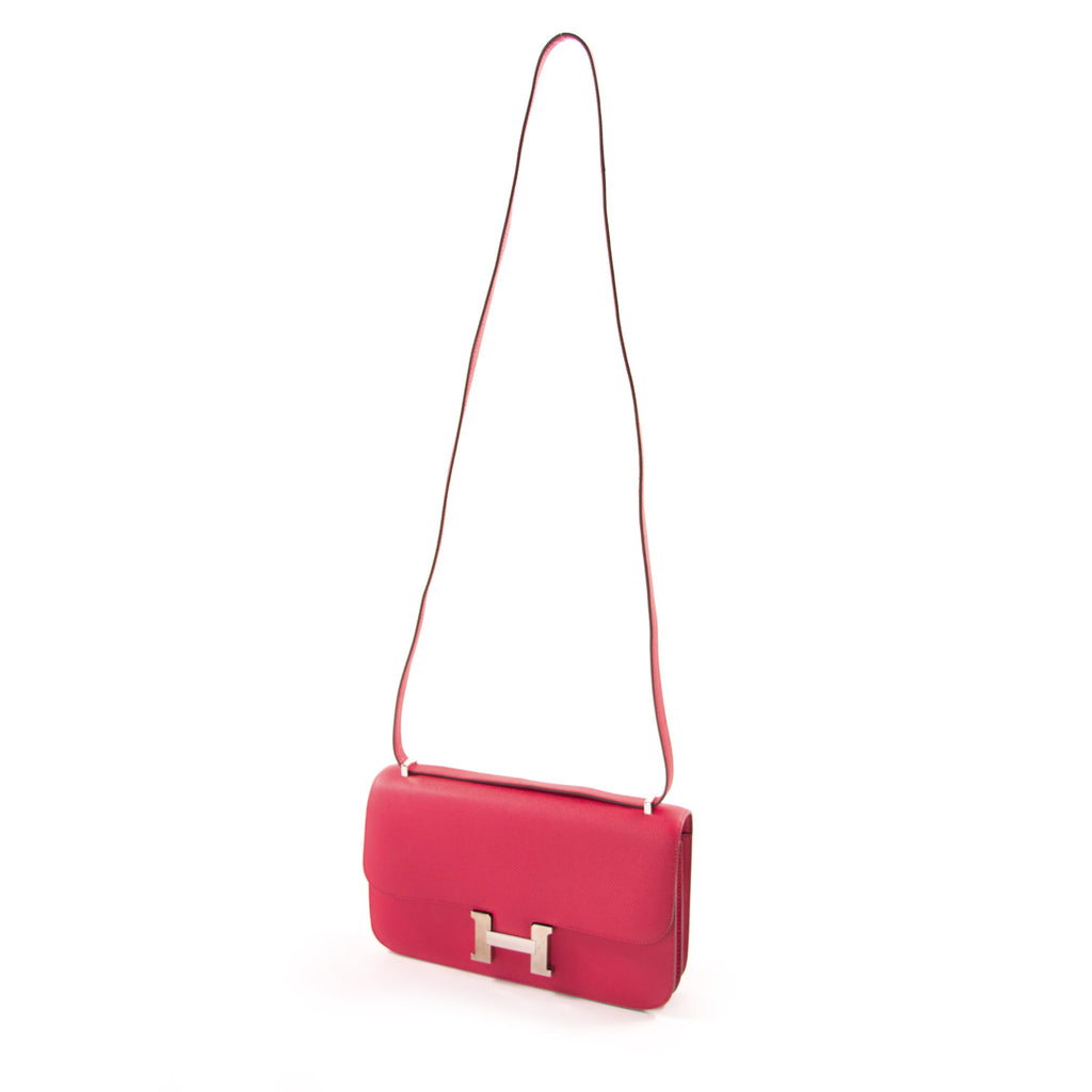 Hermès Constance Elan 25 Rose Jaipur Epsom Bags Hermès - Shop authentic new pre-owned designer brands online at Re-Vogue