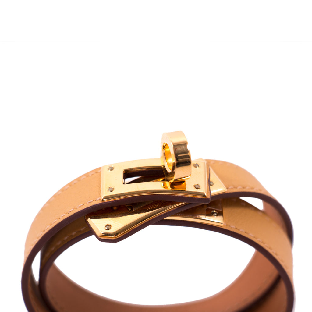 Hermès Kelly Double Tour Bracelet Accessories Hermès - Shop authentic new pre-owned designer brands online at Re-Vogue
