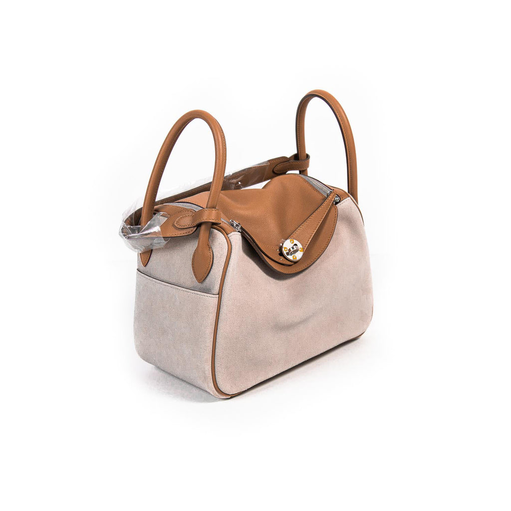 Hermès Grizzly Swift Lindy 26 Bags Hermès - Shop authentic new pre-owned designer brands online at Re-Vogue
