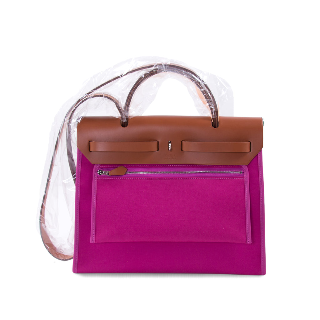 Hermès Herbag Zip 31 Officier Magnolia 2018