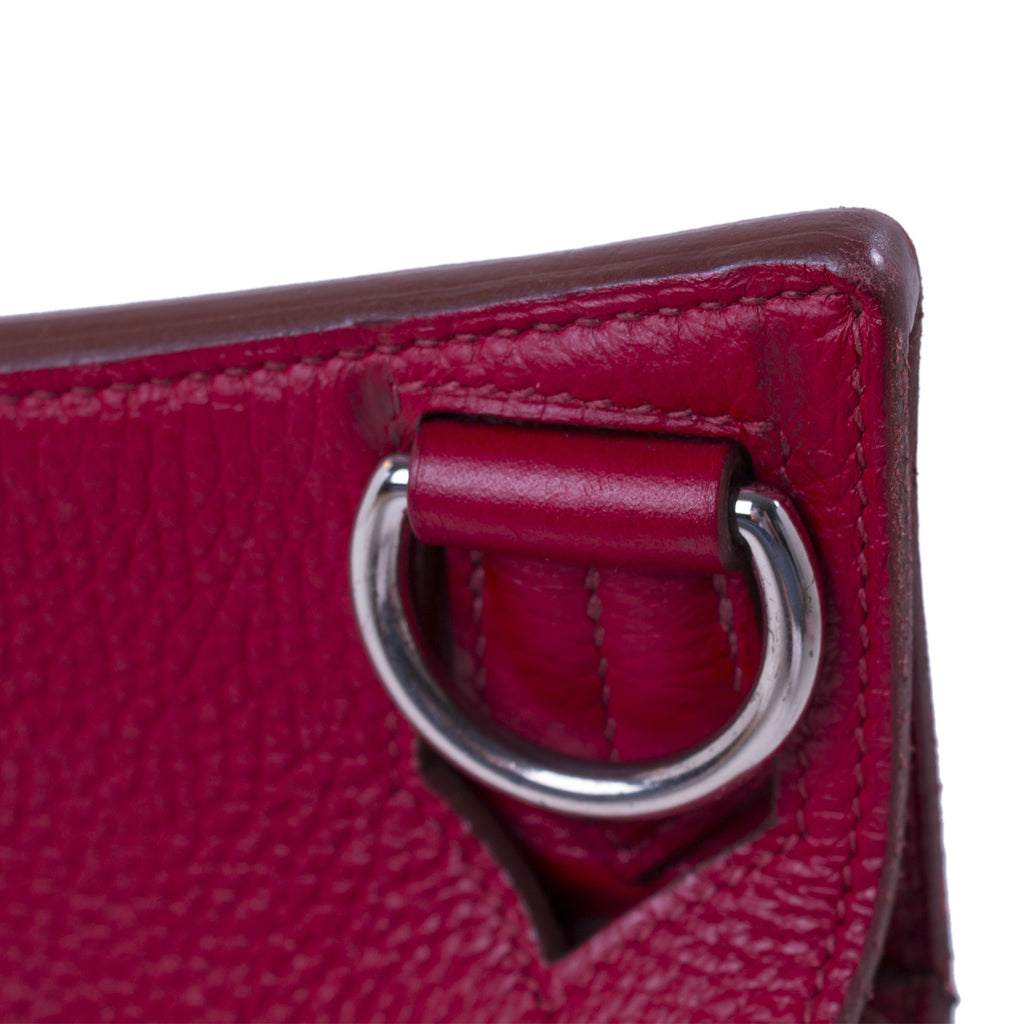 Hermès Jypsière 34 Ruby Red Clemence Bags Hermès - Shop authentic new pre-owned designer brands online at Re-Vogue