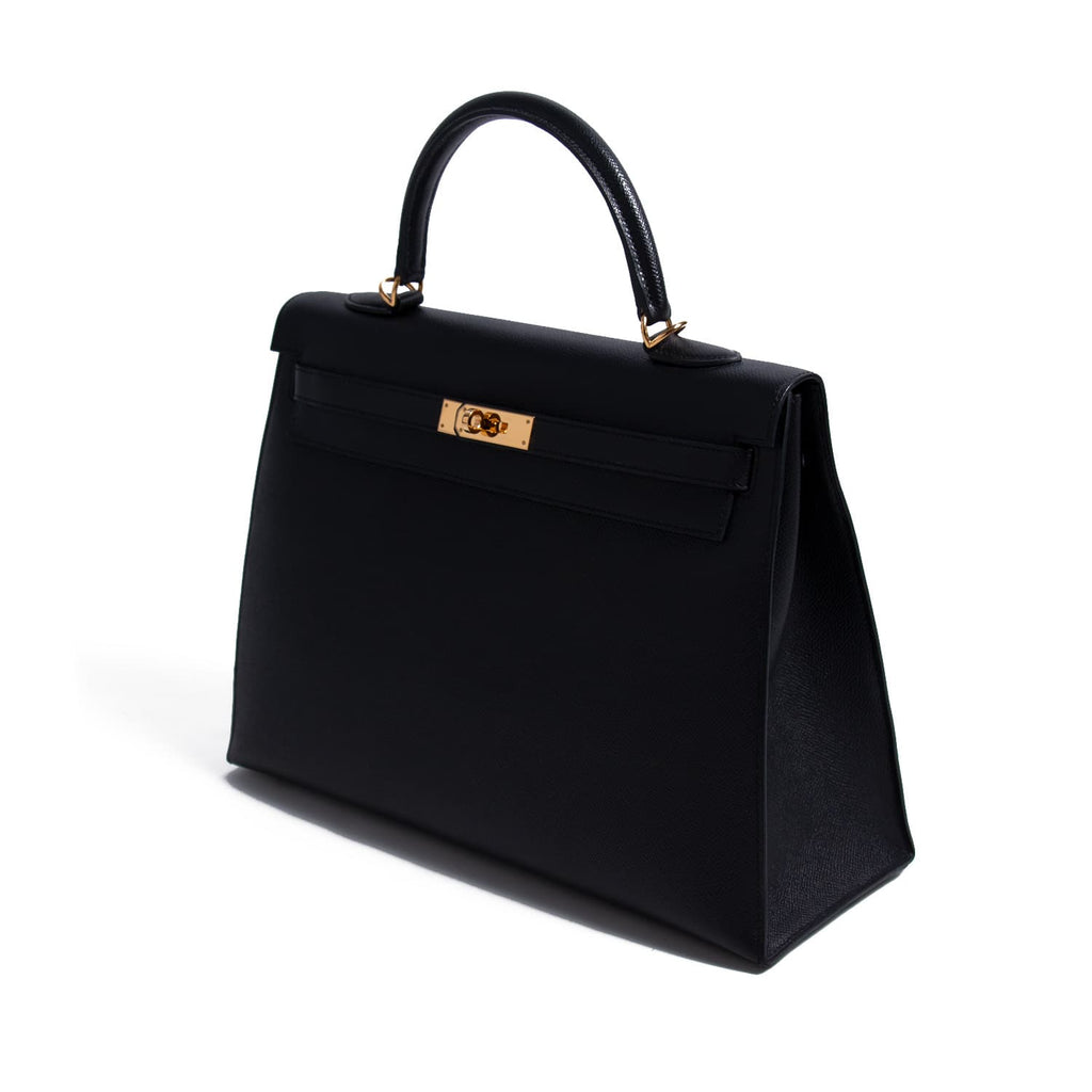 Hermès Kelly 35 Sellier Epsom Leather Bags Hermès - Shop authentic new pre-owned designer brands online at Re-Vogue