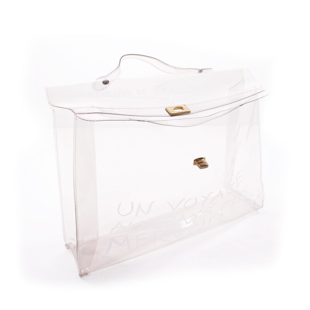 Hermès Transparent Vinyl Kelly Bag Bags Hermès - Shop authentic new pre-owned designer brands online at Re-Vogue